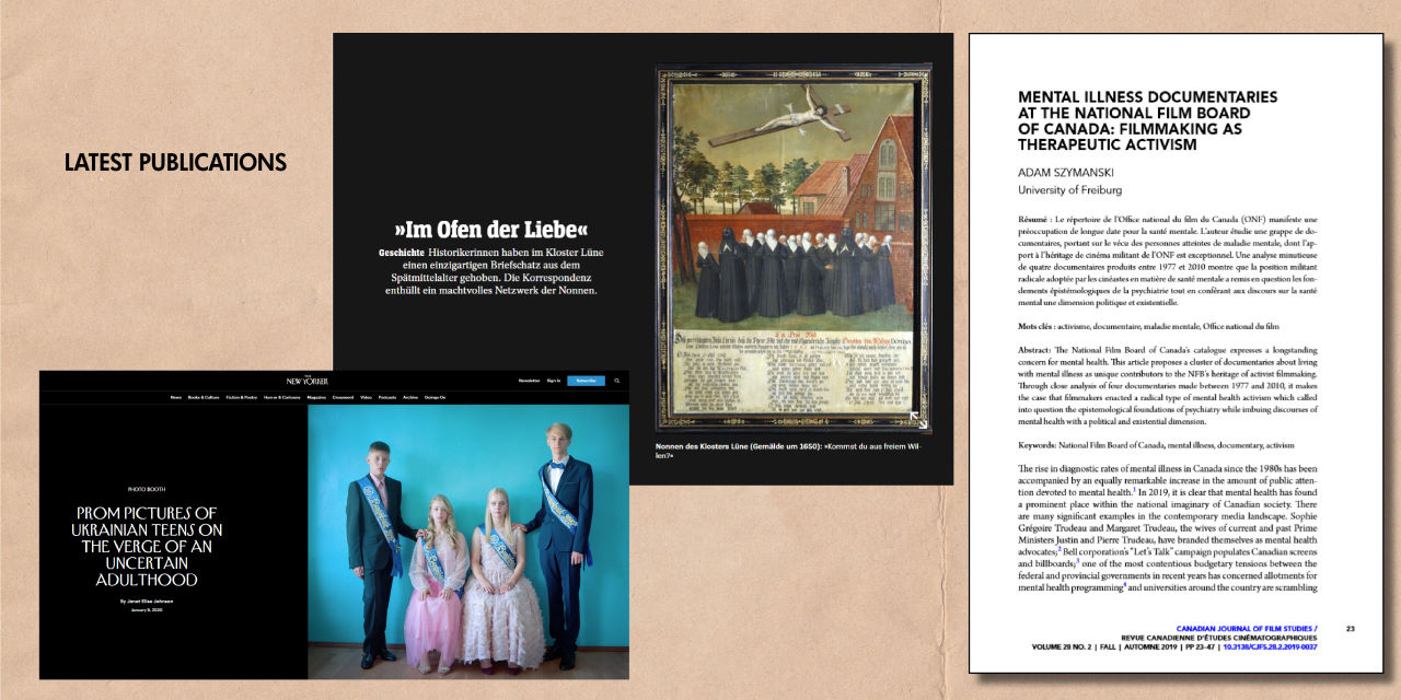 Latest Publications