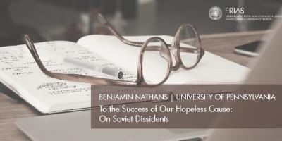 HUMSS Colloquium 2.0 with Benjamin Nathans