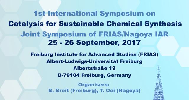 FRIAS Nagoya Symposium