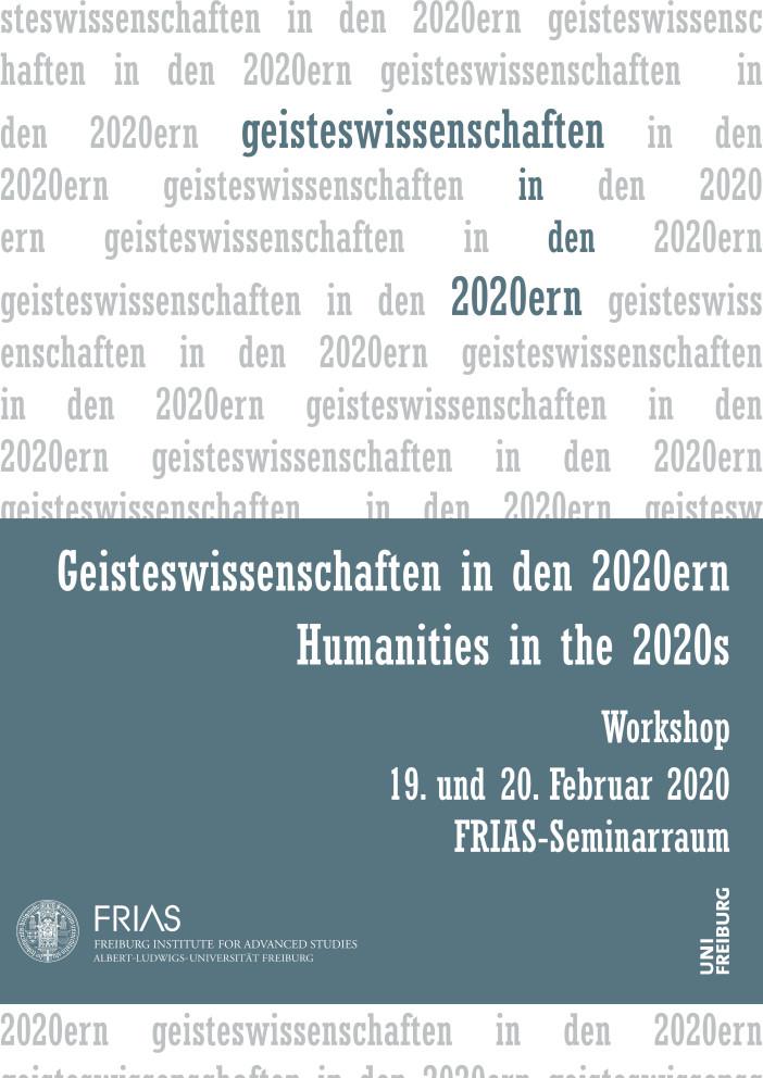 Geisteswissenschaften in den 2020ern