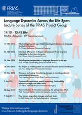 Language Dynamics across the Life Span
