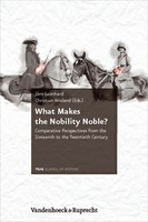 """What Makes the Nobility Noble?"" – 2. Band der FRIAS ""Weißen Reihe"" erschienen"