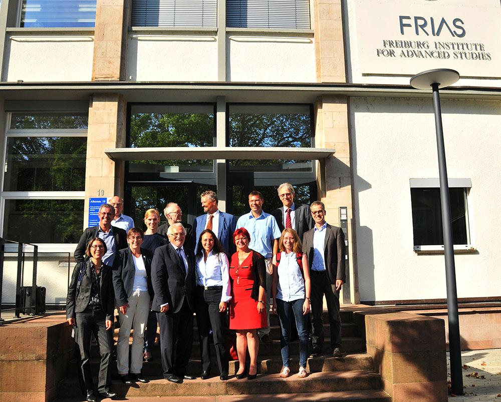 Besuch der SPD-Generalsekretärin Yasmin Fahimi am FRIAS