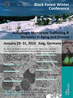"Black Forest Winter Conference: ""Autophagic Membrane Trafficking & Dynamics in Aging and Disease"