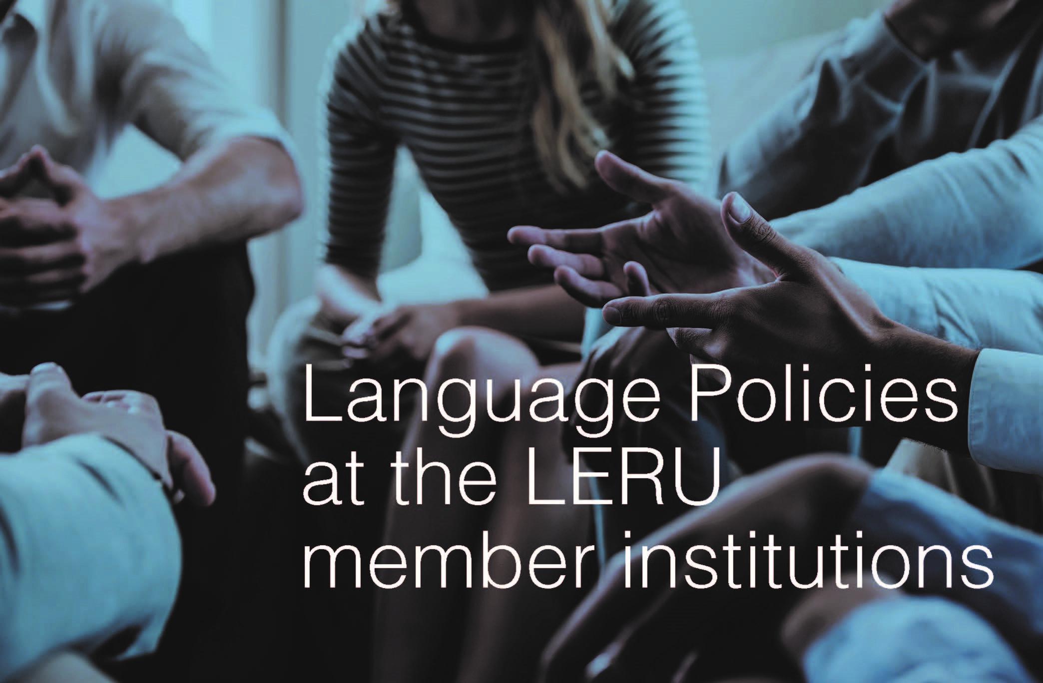 """""""Language Policies at the LERU member institutions"""" - FRIAS Direktor Professor Bernd Kortmann veröffentlicht Briefing Paper für die League of European Research Universities (LERU)"""