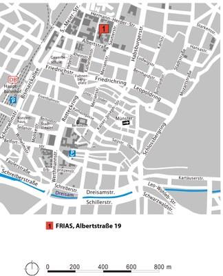 FRIAS Lageplan 2014