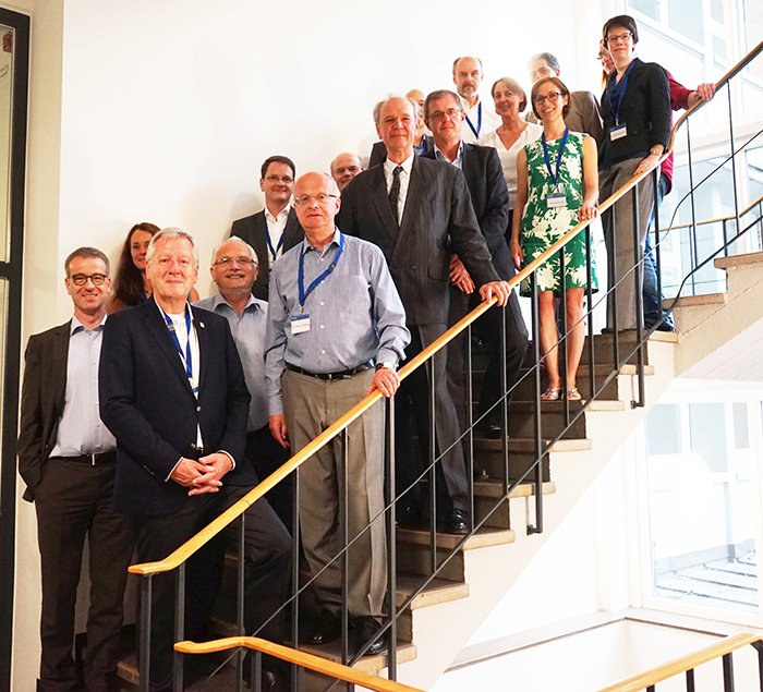 Exchange and outlook: inaugural meeting of the new steering committee at FRIAS