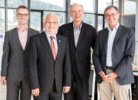 FRIAS's new management committee appointed following the Senate's approval of its new concept.